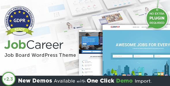 20+ Best WordPress Job Board Themes to Build Job Websites 2019 5
