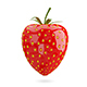 3D Illustration Strawberry - GraphicRiver Item for Sale