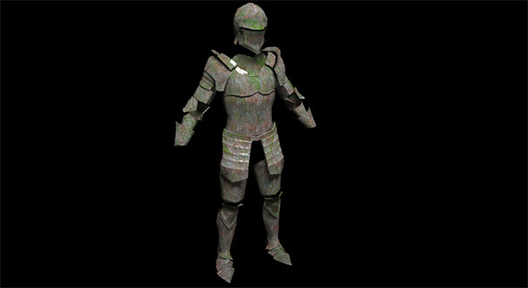 Old Knight's Armor - 3DOcean Item for Sale