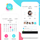 Chatly - Mobile App UI Kit Design - GraphicRiver Item for Sale