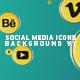 Social Media Icons Background V1 - VideoHive Item for Sale