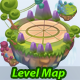 World Game Level Map Assets