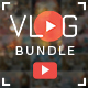 Vlog Bundle - 20 Creative YouTube Vlog Banners - GraphicRiver Item for Sale