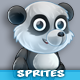 Panda 2D Game Character Sprites Sheets - GraphicRiver Item for Sale