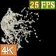 Milk Splash Center E 4K - VideoHive Item for Sale