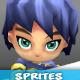 4- Directional Game Sprites Set - GraphicRiver Item for Sale