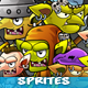 7 Goblins Game Character Sprites - GraphicRiver Item for Sale