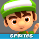 4 Directional 3D Style Game Character Sprites 09 - GraphicRiver Item for Sale