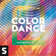 Color Dance Flyer - GraphicRiver Item for Sale