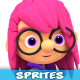 3D Rendered Game Character Sprites 11 - GraphicRiver Item for Sale