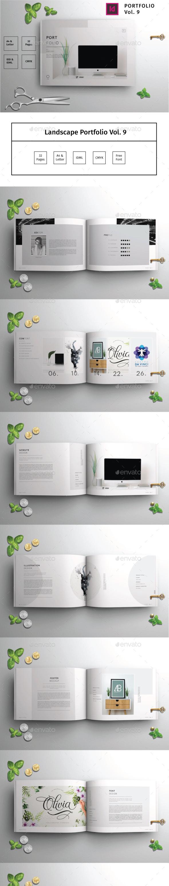 Landscape Portfolio Vol.9 - Portfolio Brochures