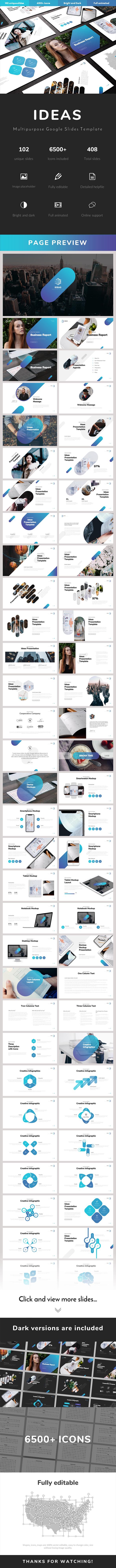 Ideas Multipurpose Google Slides Template - Google Slides Presentation Templates