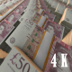 Pound sterling Stacks Banknotes Money - VideoHive Item for Sale