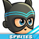 Super Hero 2D Game Character Sprites 287 - GraphicRiver Item for Sale