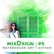 MixDxign Watercolor Art | PS Action