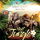 Jungle Night Flyer - GraphicRiver Item for Sale