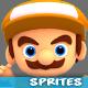 4 Directional 3D Style Game Character Sprites 06 - GraphicRiver Item for Sale