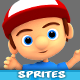 4 Directional 3D Style Game Character Sprites 05 - GraphicRiver Item for Sale