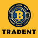 Tradent - Bitcoin, Cryptocurrency Theme
