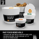 Fast Food Boxes Vol.2:Take Out Packaging Mock Ups - GraphicRiver Item for Sale