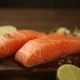 Fresh Raw Salmon Fillet - VideoHive Item for Sale