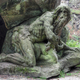 Hermit in front of the cave - Baroque statue - PhotoDune Item for Sale