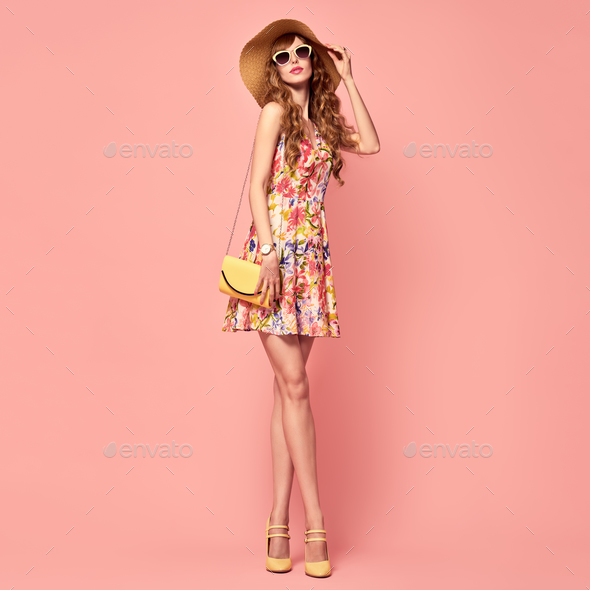 Floral Dress - Stock Photo - Images