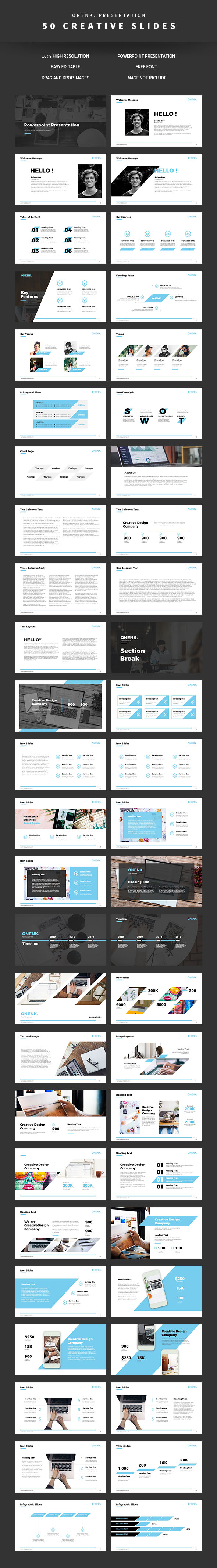 Onenk Powerpoint Templates - Business PowerPoint Templates