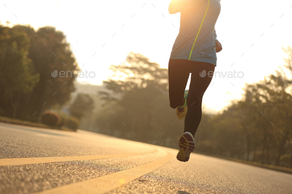 Running legs - Stock Photo - Images