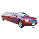 Red BMW Limousine Car. - 3DOcean Item for Sale