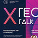 Tech Talk Event Flyer - GraphicRiver Item for Sale