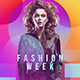 Fashion Week Flyer Template - GraphicRiver Item for Sale