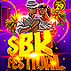 Salsa Bachata Kizomba SBK Festival Party Flyer - GraphicRiver Item for Sale