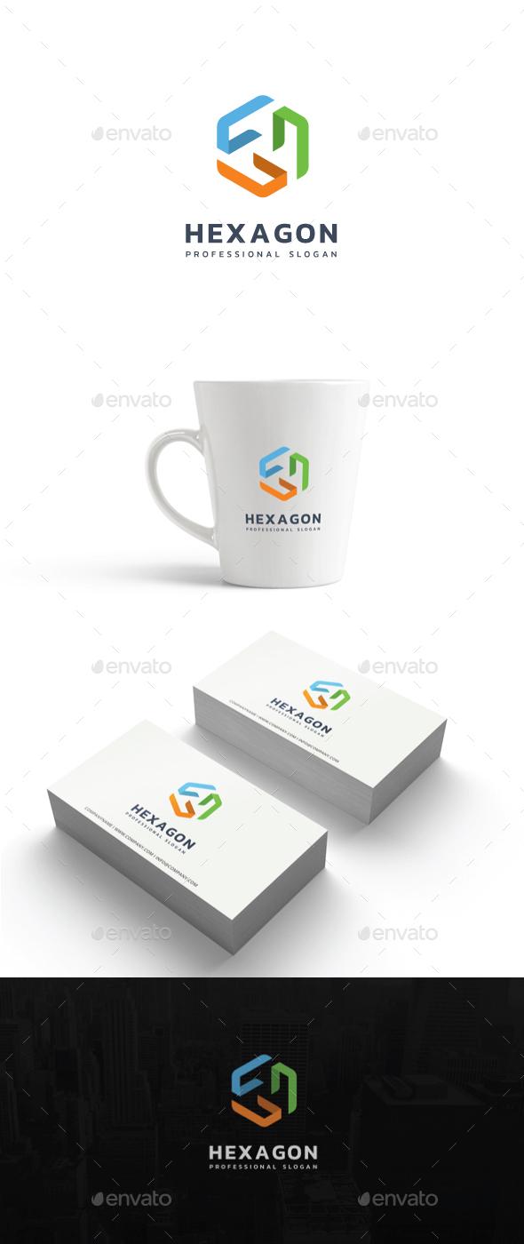 Hexagon Logo - Abstract Logo Templates