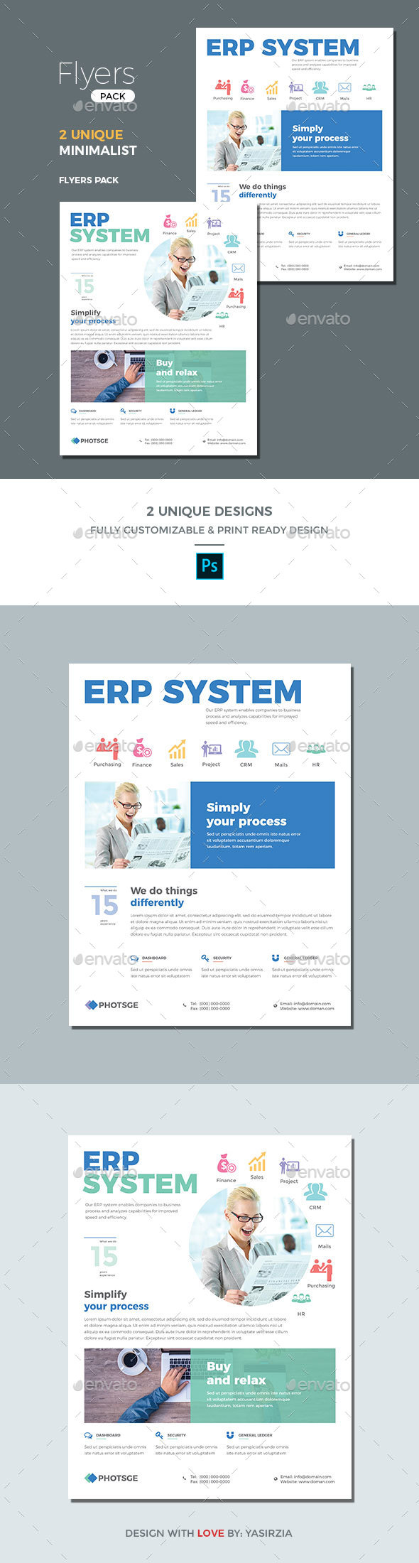ERP Flyer Templates - Corporate Flyers