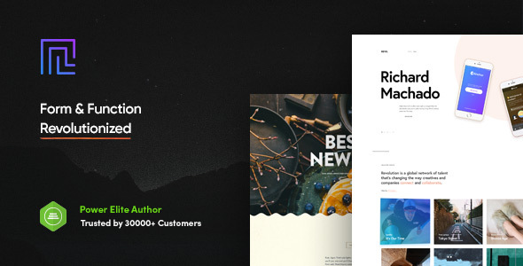 Revolution - Creative Multi Purpose Theme - Business Corporate