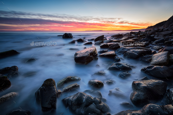 After sunset - Stock Photo - Images