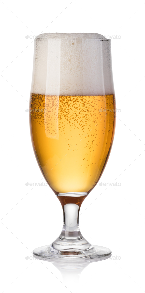 Glass of beer - Stock Photo - Images