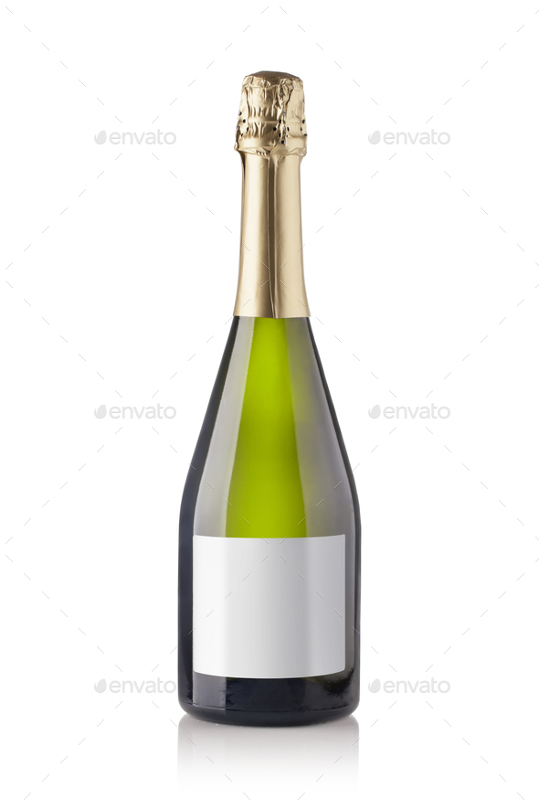 champagne bottle - Stock Photo - Images