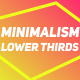 Minimalism Lower Thirds - VideoHive Item for Sale