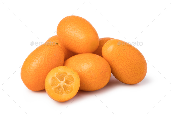 ripe kumquat fruit - Stock Photo - Images