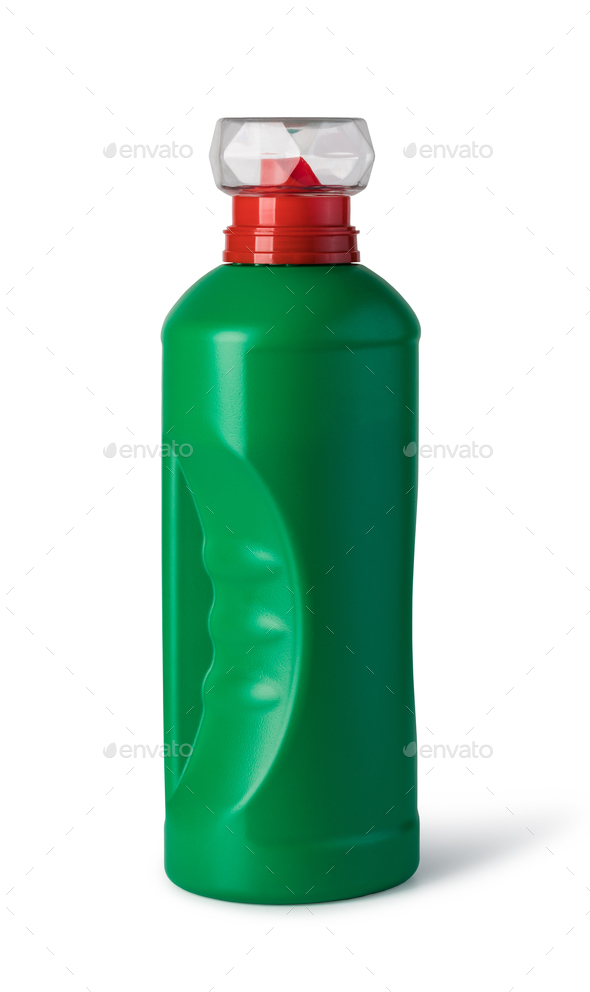 bottles of cleaning product - Stock Photo - Images