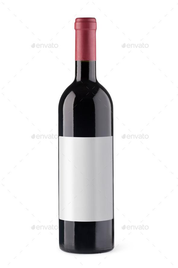 wine bottles - Stock Photo - Images