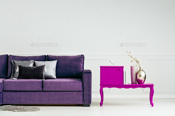 Table and couch - Stock Photo - Images