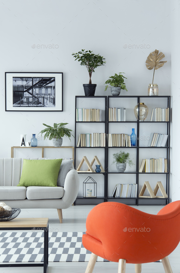 Books and plants - Stock Photo - Images