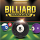 Billiards Tournament - GraphicRiver Item for Sale