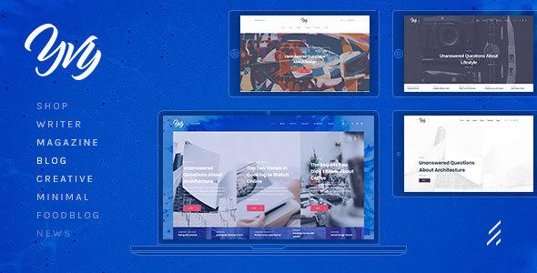 Image of Yvy — Blog/Magazine WordPress Theme