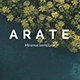 Arate Minimal Powerpoint Template - GraphicRiver Item for Sale