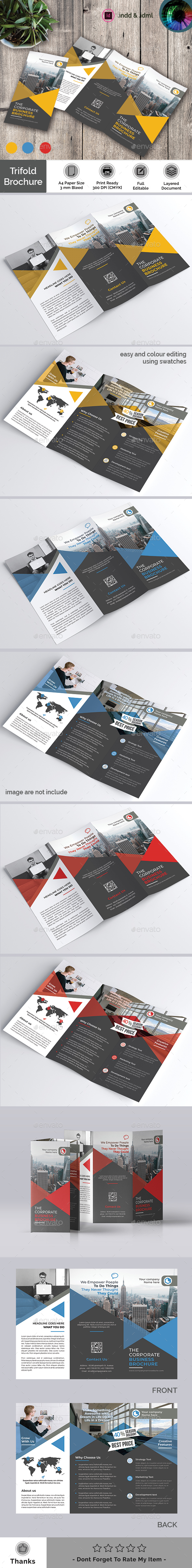 Trifold Brochure - Catalogs Brochures
