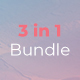 Bundle 3 in 1 Google Slides - GraphicRiver Item for Sale